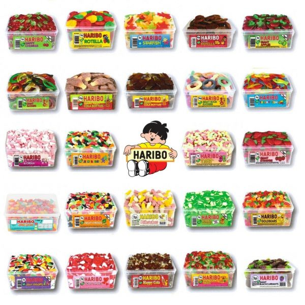 Haribo Sweets Candy Box
