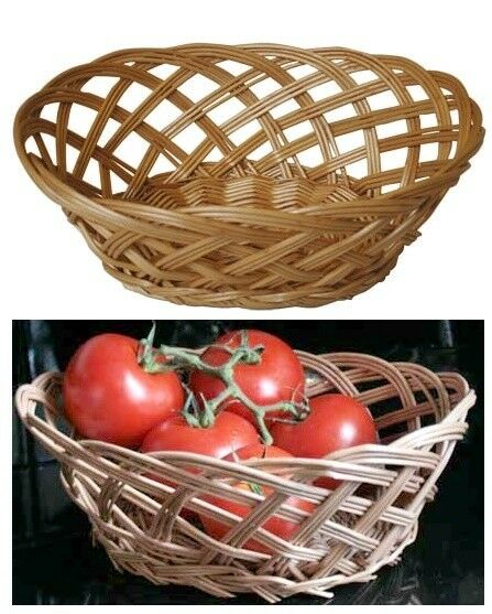 Wicker Willow Fruit Basket
