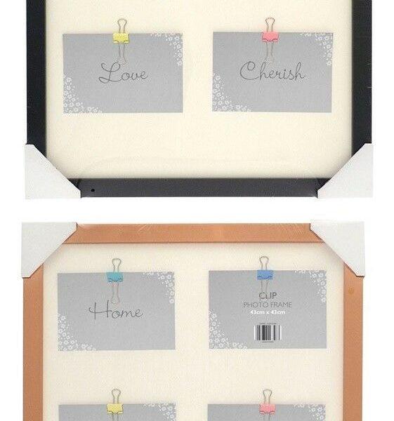 Clip Box Photo Frame