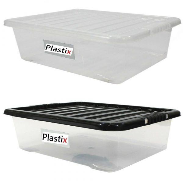 Underbed Plastic Storage Boxes